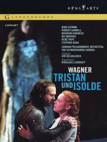 Richard Wagner (1813-1883): Tristan und Isolde, 3 DVDs
