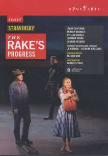 Igor Strawinsky (1882-1971): The Rake's Progress, 2 DVDs