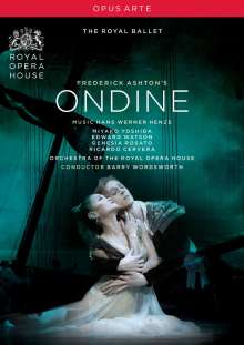 Royal Ballet Covent Garden:Ondine (Henze), DVD