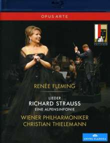 Richard Strauss (1864-1949): Lieder, Blu-ray Disc