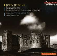 John Jenkins (1592-1678): Fantasia-Suiten in c,e,a,g, CD