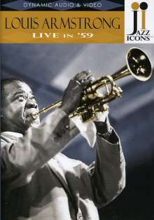 Louis Armstrong  (1901-1971): Live in ´59, DVD