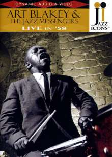 Art Blakey  (1919-1990): Live In '58, DVD