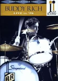 Buddy Rich  (1917-1987): Live In '78, DVD
