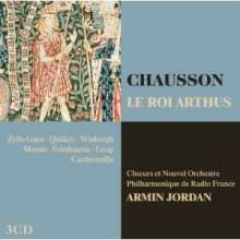 Ernest Chausson (1855-1899): The roi Arthus, 3 CDs