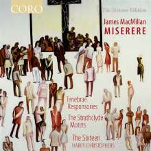 James MacMillan (geb. 1959): Miserere, CD