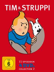 Tim und Struppi - Special Edition Vol.2, 4 DVDs