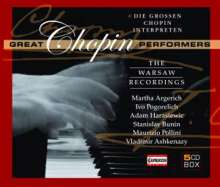 Frederic Chopin (1810-1849): Great Chopin Performers - The Warsaw Recordings, 5 CDs