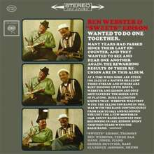 Ben Webster & Sweets Edison: Ben Webster & 'Sweets' Edison (180g) (Limited Edition) (45 RPM), 2 LPs