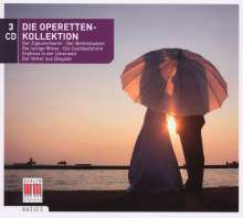 Die Operettenkollektion, 3 CDs