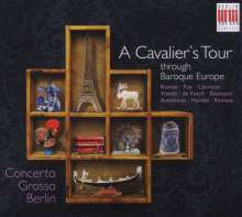 A Cavalier's Tour through Baroque Europe, CD