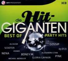 Die Hit-Giganten: Best Of Party Hits, 3 CDs