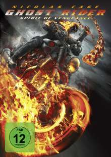 Ghost Rider - Spirit Of Vengeance, DVD
