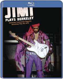 Jimi Hendrix: Jimi Plays Berkeley 1970, Blu-ray Disc