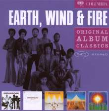 Earth, Wind & Fire: Original Album Classics, 5 CDs