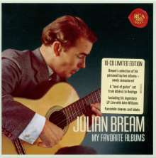 Julian Bream - Original Jacket Collection, 10 CDs