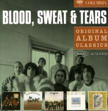 Blood, Sweat & Tears: Original Album Classics, 5 CDs