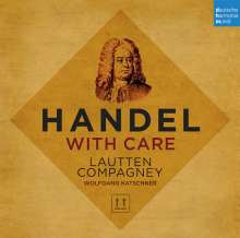Georg Friedrich Händel (1685-1759): Handel with Care - Händel-Arien instrumental, CD