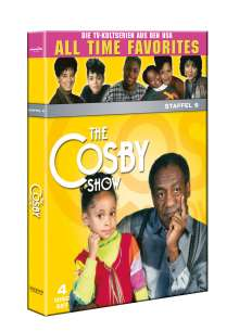 The Cosby Show Season 6, 4 DVDs
