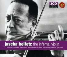 Jascha Heifetz - The Infernal Violin, 3 CDs