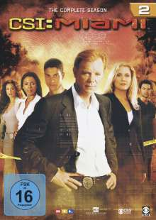 CSI Miami Season 2, 6 DVDs