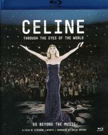 Celine Dion: Through The Eyes Of The World, Blu-ray Disc