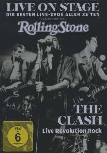 Clash: Live on Stage: Live Revolution 1981, DVD