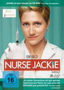 Nurse Jackie Season 1, 3 DVDs