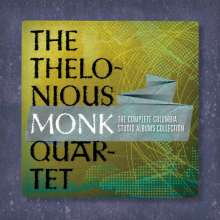 Thelonious Monk  (1917-1982): The Complete Thelonious Monk Quartet Columbia Studio Albums Collection, 6 CDs