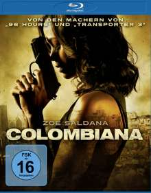 Colombiana (Blu-ray), Blu-ray Disc
