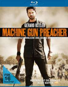 Machine Gun Preacher (Blu-ray), Blu-ray Disc