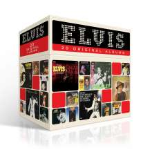 Elvis Presley: 20 Original Albums (The Perfect Elvis Presley Collection) (Original Cover), 20 CDs