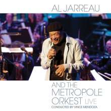 Al Jarreau  (geb. 1940): Al Jarreau And The Metropole Orkest (Live), CD
