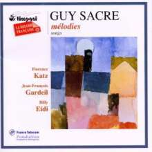 Guy Sacre (geb. 1948): Lieder, CD