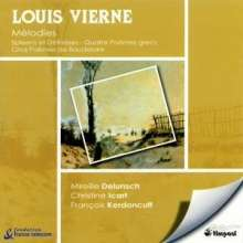 Louis Vierne (1870-1937): Lieder, CD