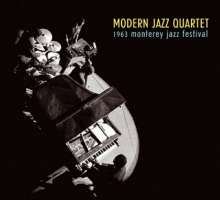 Modern Jazz Quartet: 1963 Monterey Jazz Festival, CD