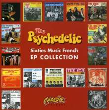 Psychedelic Sixties Music French EP Collection, 14 Maxi-CDs