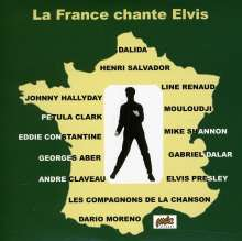 Various Artists: La France Chante Elvis, CD