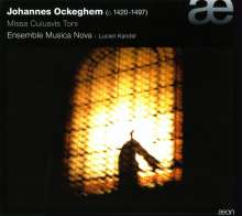 Johannes Ockeghem (1430-1497): Messen in d,e,f,g, 2 CDs