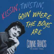 Connie Francis: Kissin' Twistin' Goin' Where The Boys Are, 5 CDs