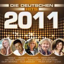 Various Artists: Die deutschen Hits 2011, 2 CDs