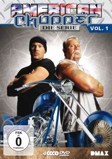 American Chopper Season 1, 4 DVDs