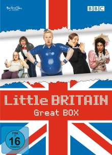 Little Britain - Great Box, 8 DVDs