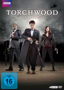 Torchwood - Miracle Day, 4 DVDs