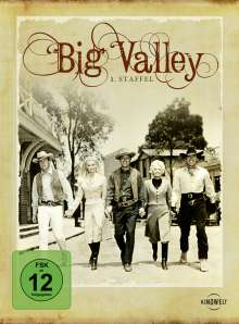 Big Valley Season 1, 8 DVDs