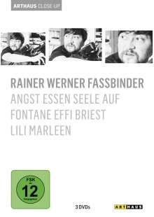 Rainer Werner Fassbinder Arthaus Close-Up, 3 DVDs