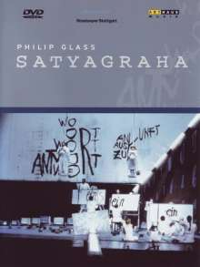 Philip Glass (geb. 1937): Satyagraha (Oper in 3 Akten), DVD