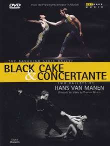 Bayerisches Staatsballett:Black Cake & Concertante, DVD