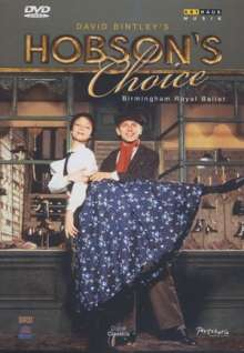 Birmingham Royal Ballet:Hobson's Choice, DVD