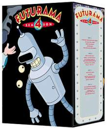 Futurama Season 4, 4 DVDs